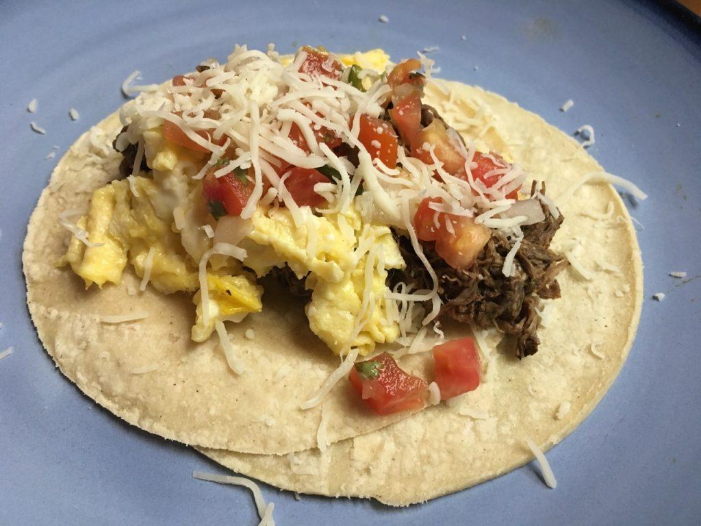 Barbacoa Breakfast Taco