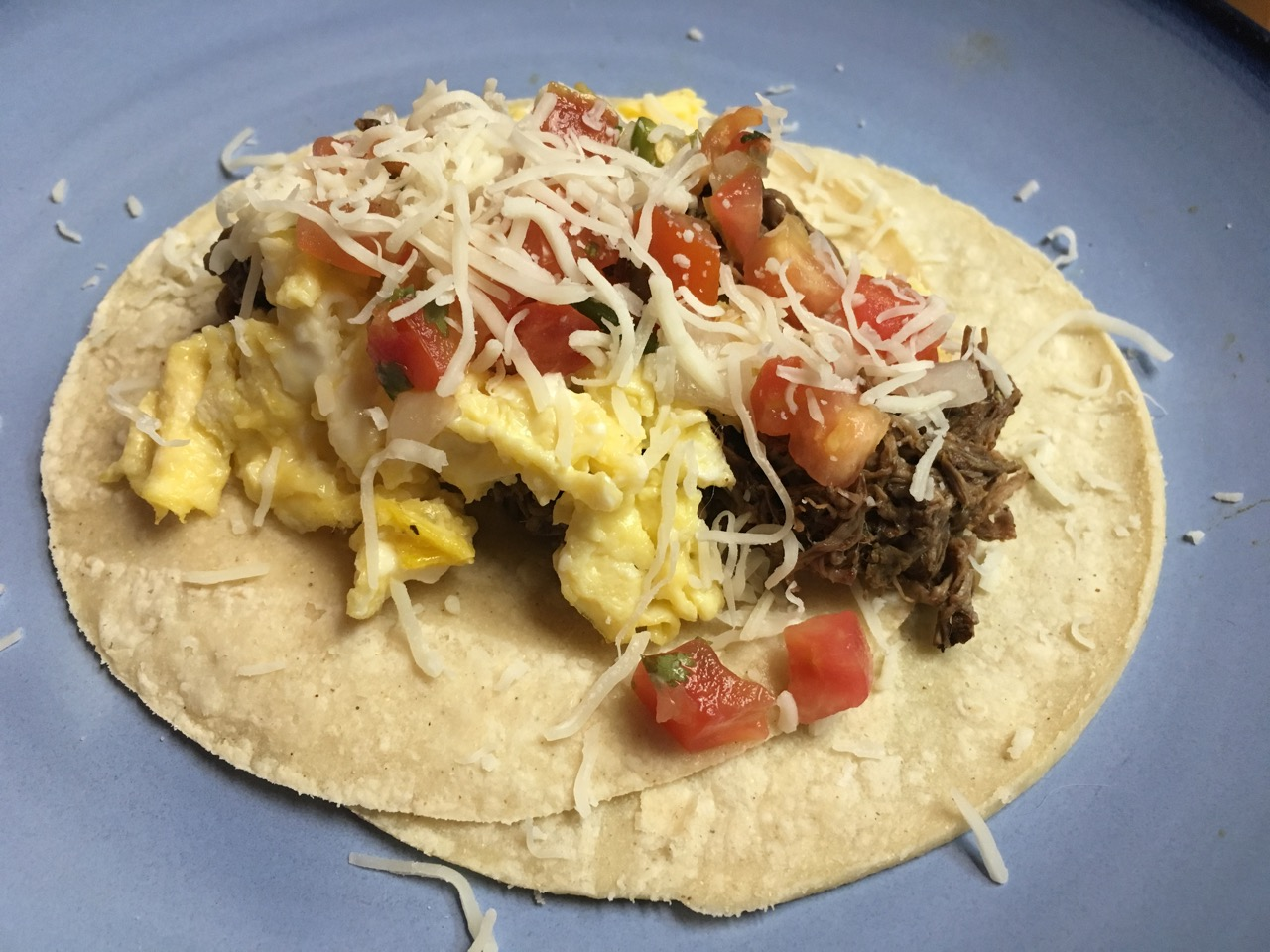 Barbacoa Breakfast Taco