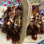 Sweet Heat pork tacos